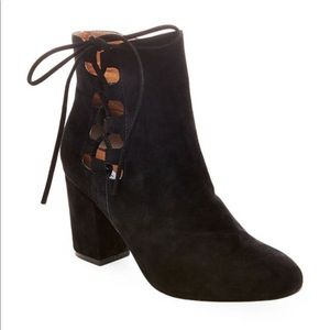 New Steve Madden Savor Ankle Boots side lace up